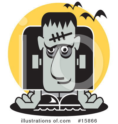 Frankenstein Clipart #15866 by Andy Nortnik