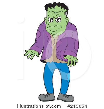 Frankenstein Clipart #213054 - Illustration by visekart