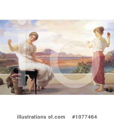 Frederic Lord Leighton Clipart #1077464 by JVPD