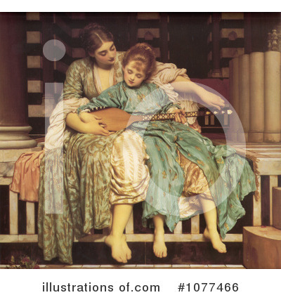 Frederic Lord Leighton Clipart #1077466 by JVPD