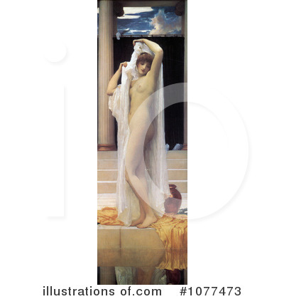 Frederic Lord Leighton Clipart #1077473 by JVPD