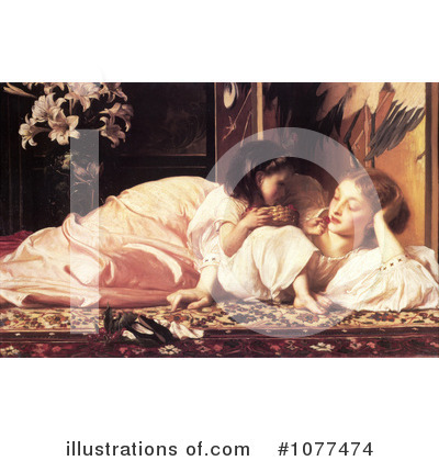 Frederic Lord Leighton Clipart #1077474 by JVPD