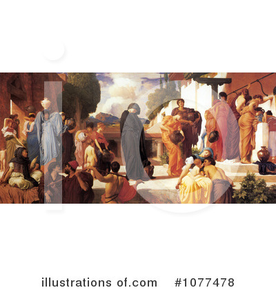 Frederic Lord Leighton Clipart #1077478 by JVPD
