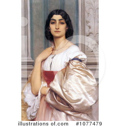 Frederic Lord Leighton Clipart #1077479 by JVPD