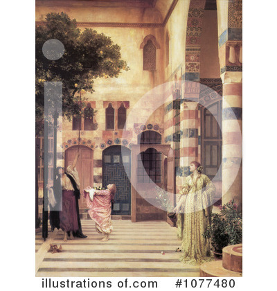 Frederic Lord Leighton Clipart #1077480 by JVPD