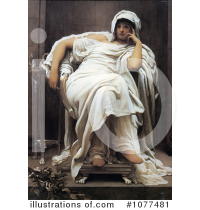Frederic Lord Leighton Clipart #1077481 by JVPD