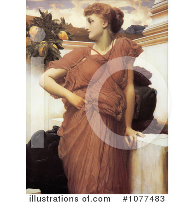 Frederic Lord Leighton Clipart #1077483 by JVPD