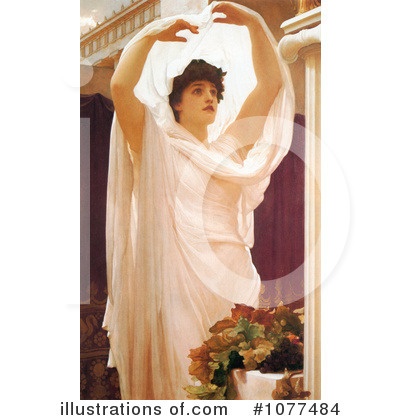 Frederic Lord Leighton Clipart #1077484 by JVPD