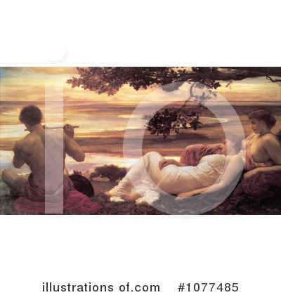 Frederic Lord Leighton Clipart #1077485 by JVPD
