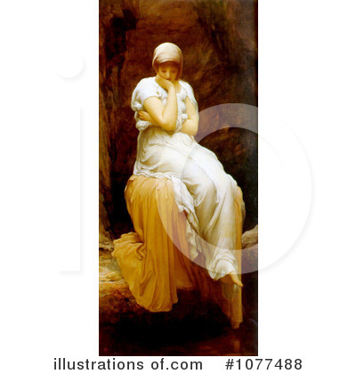 Frederic Lord Leighton Clipart #1077488 by JVPD