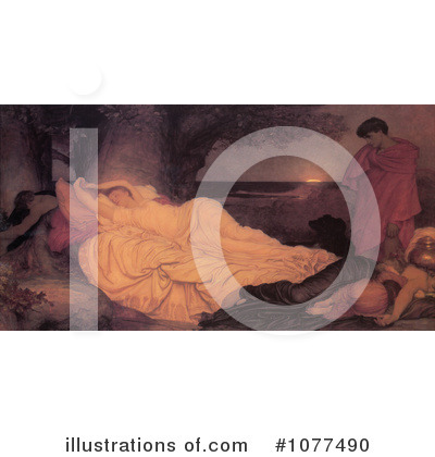 Frederic Lord Leighton Clipart #1077490 by JVPD