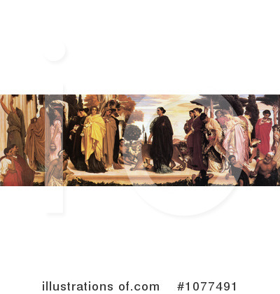 Frederic Lord Leighton Clipart #1077491 by JVPD