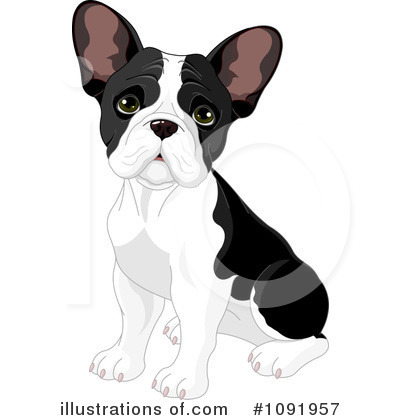 French Bulldog Clipart #1091957 by Pushkin
