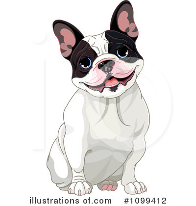 French Bulldog Clipart #1099412 by Pushkin
