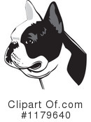 Royalty-Free (RF) French Bulldog Clipart Illustration #1179640