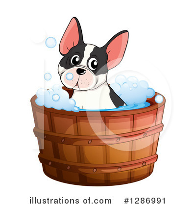 Bathing Clipart #1286991 by Graphics RF