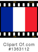 French Flag Clipart #1363112 by oboy