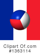 French Flag Clipart #1363114 by oboy