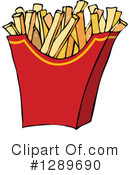 Royalty-Free (RF) French Fries Clipart Illustration #1289690