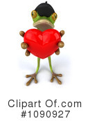 Royalty-Free (RF) French Frog Clipart Illustration #1090927