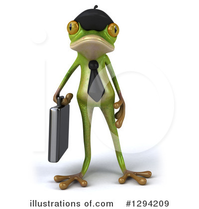 Green Frog Clipart #1294209 by Julos