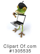 Royalty-Free (RF) French Frog Clipart Illustration #1305535