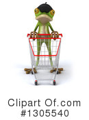 Royalty-Free (RF) French Frog Clipart Illustration #1305540