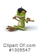 Royalty-Free (RF) French Frog Clipart Illustration #1305547
