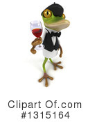 Royalty-Free (RF) French Frog Clipart Illustration #1315164
