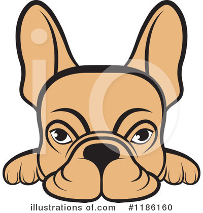 French Bulldog Clipart #1186160 by Lal Perera