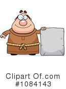 Royalty-Free (RF) Friar Clipart Illustration #1084143