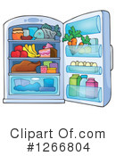 Fridge Clipart #1266804 by visekart