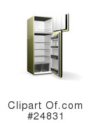 Fridge Clipart #24831 by KJ Pargeter