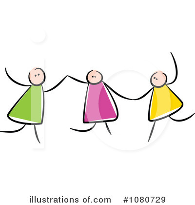 Royalty-Free (RF) Friends Clipart Illustration by Prawny - Stock Sample #1080729