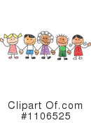 Friends Clipart #1106525 by C Charley-Franzwa