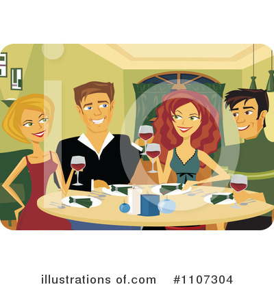 Friends Clipart #1107304 by Amanda Kate