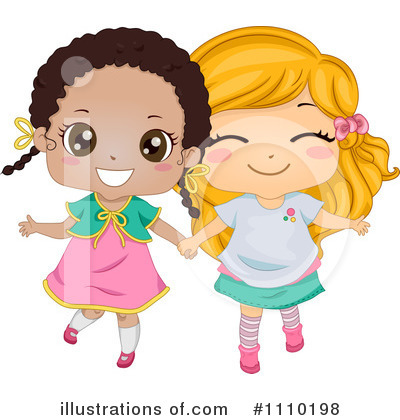 Royalty-Free (RF) Friends Clipart Illustration by BNP Design Studio - Stock Sample #1110198