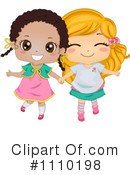 Royalty-Free (RF) Friends Clipart Illustration #1110198