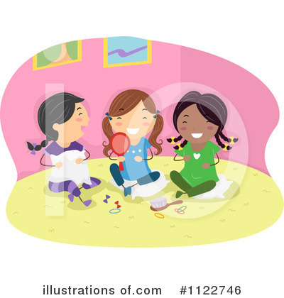 Royalty-Free (RF) Friends Clipart Illustration by BNP Design Studio - Stock Sample #1122746
