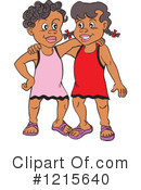 Friends Clipart #1215640 by LaffToon