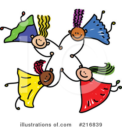 Royalty-Free (RF) Friends Clipart Illustration by Prawny - Stock Sample #216839