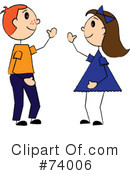 Friends Clipart #74006 by Pams Clipart