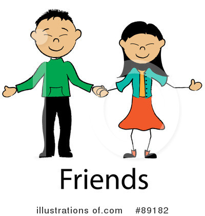 Friends Clipart #89182 by Pams Clipart