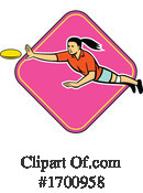 Frisbee Clipart #1700958 by patrimonio