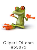 Frog Character Clipart #53875 by Julos