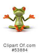 Frog Character Clipart #53884 by Julos