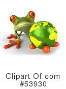 Frog Character Clipart #53930 by Julos