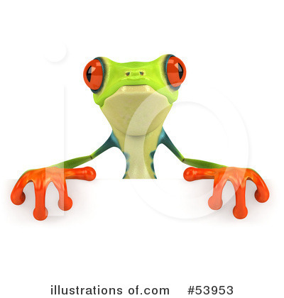 Argie Frog Clipart #53953 by Julos