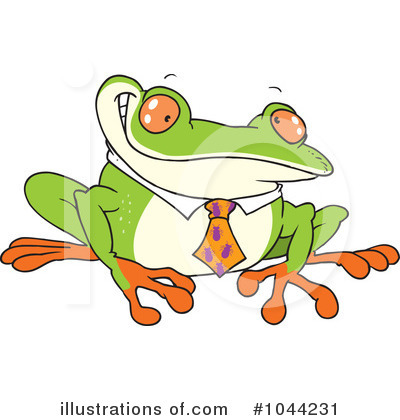 Frog Clipart #1044231 by toonaday