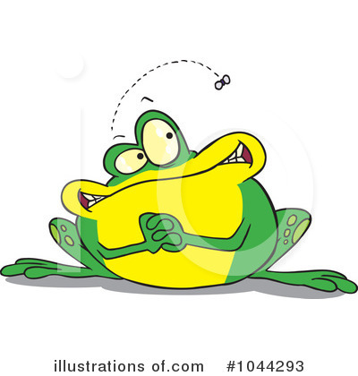 Frog Clipart #1044293 by toonaday